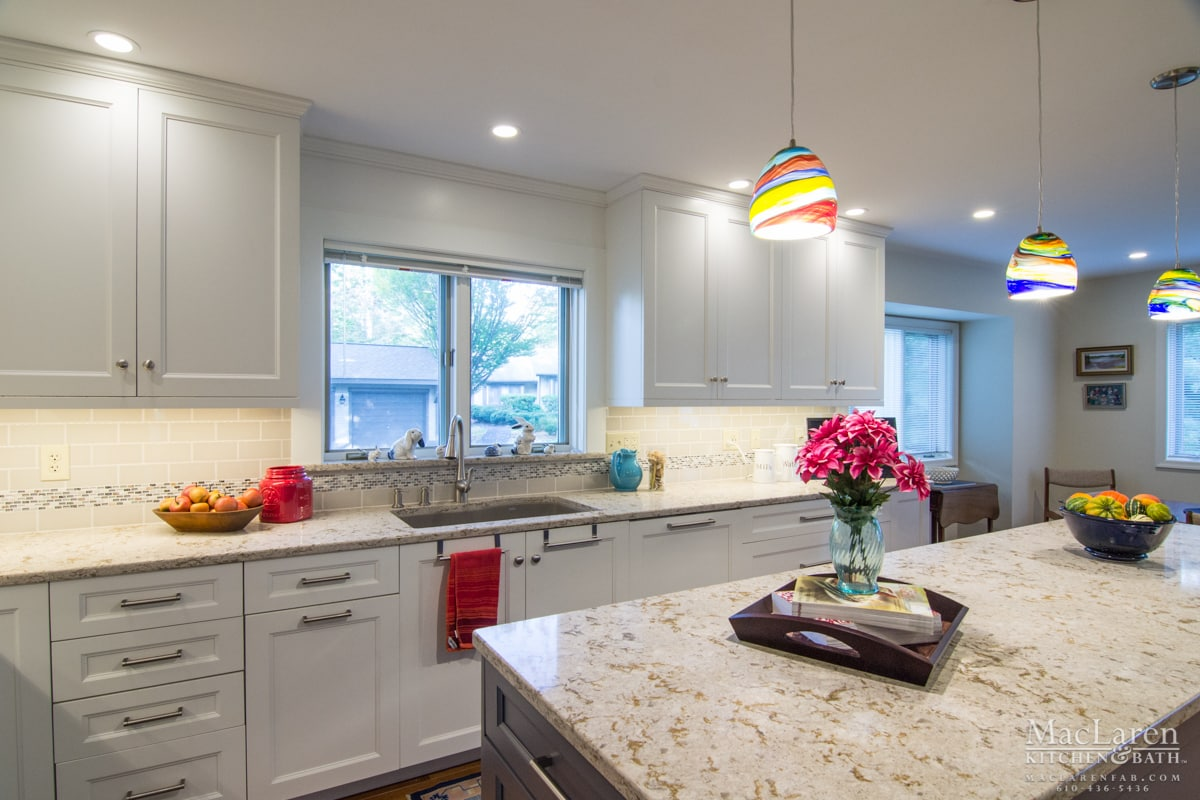 Custom Quartz Countertops Maclaren Kitchen And Bath