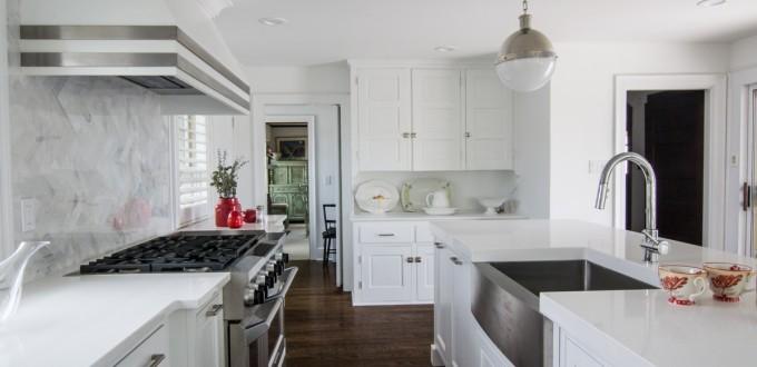 White Modern Avalon Kitchen